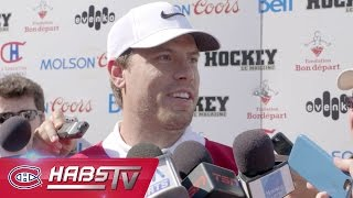 Shea Weber meets the Montreal media for the first time