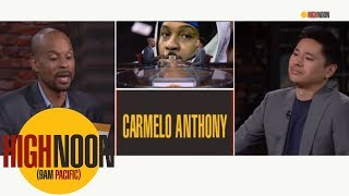 Can Carmelo and D'Antoni put past behind them? | High Noon | ESPN