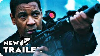 THE EQUALIZER 2 ALL Clips & Trailer (2018) Denzel Washington Movie