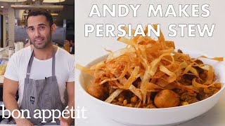 Andy Makes Khoresh Gheymeh (Persian Stew) | From the Test Kitchen | Bon Appétit