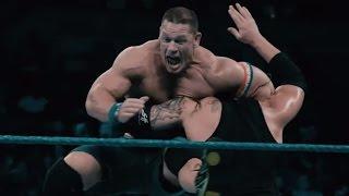 Astounding slow-motion footage of John Cena vs. Baron Corbin: Exclusive, Jan. 17, 2017