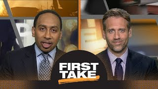 Stephen A. and Max react to LeBron James