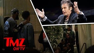 Lebron James Already Has High Profile Hollywood Friends | TMZ TV