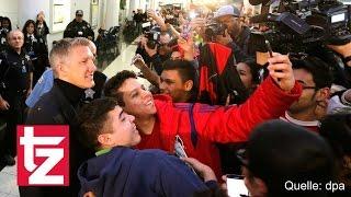 Bastian Schweinsteiger: Fans flippen bei Ankunft in Chicago aus