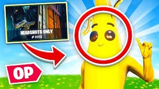THE BANANA SKIN is OP! (Headshots Only)