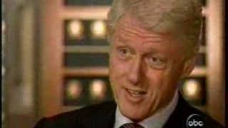 """President Clinton to Peter Jennings """"Don"""