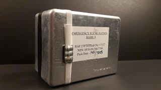 2008 British RAF Emergency Flying Ration MK 9 Survival MRE Review Royal Air Force Meal Ready to Eat
