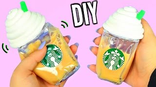DIY Liquid Starbucks Squishy! Super Cool Liquid Squishy!