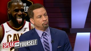 Chris Broussard on LeBron James saying Los Angeles is