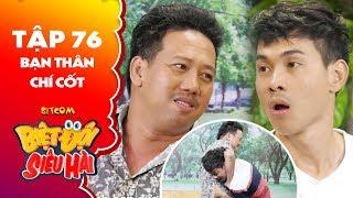 """Biệt đội siêu hài   tập 76 -Tiểu phẩm: Đỗ Phong bị Lê Nam đánh te tua vì tật """"có một nói mười"""""""
