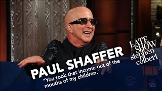 Paul Shaffer Returns To The Ed Sullivan Theater