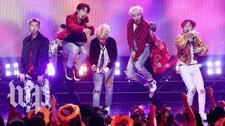 Who is K-pop supergroup BTS, and why are they giving a speech at the U.N.?