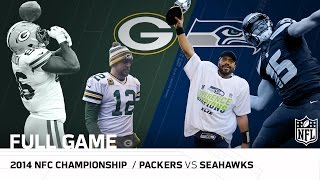 Packers vs. Seahawks: 2014 NFC Championship Game | Aaron Rodgers vs. Russell Wilson | NFL Full Game