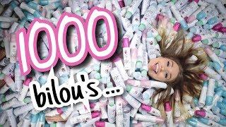 Was passiert, wenn man 1000 Bilou Flaschen... 😏 😲    BibisBeautyPalace