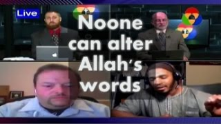 Quran says noone can CHANGE Allah