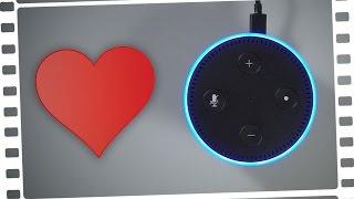MEINE NEUE FREUNDIN! - Amazon Echo (Dot) - Review