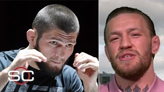 Conor McGregor wants Khabib to be his first fight back, but won