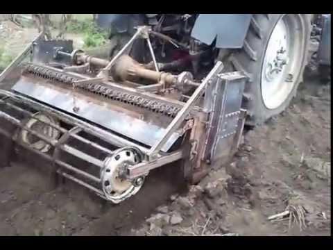 Самодельный фреза для трактора своими руками