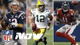 NFL MVP Candidates: Tom Brady, Aaron Rodgers, Julio Jones or Kam Chancellor? | NFL Now