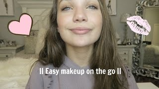 Quick and easy makeup on the go  || Maddie Ziegler