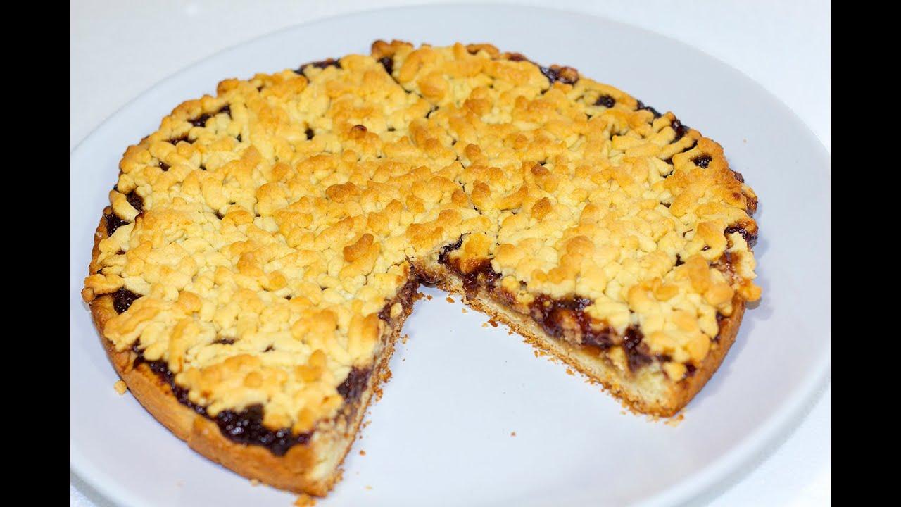 Простой рецепт песочного пирога
