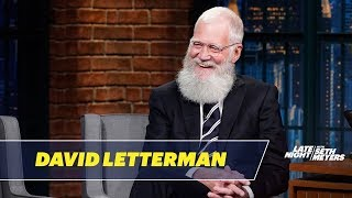 David Letterman Ordered Chinese Food While His Wife Was in Labor