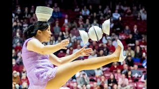 Red Panda halftime show at Alabama basketball game