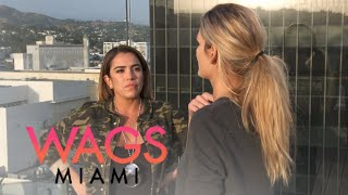 WAGS Miami | Kayla Cox Tries to Clear the Air With Astrid Bavaresco | E!