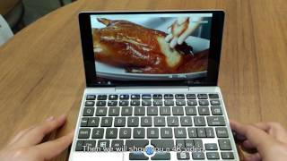 The T1 prototype of GPD Pocket