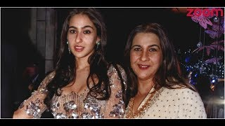 Amrita Singh Unhappy With Daughter Sara Ali Khan
