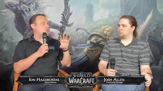 Battle for Azeroth Live Developer Q&A 6/14/2018