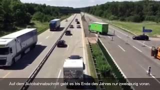 Offizieller Start der großen A9-Baustelle bei Dessau