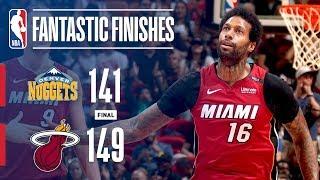 DOUBLE OVERTIME! Denver Nuggets vs Miami Heat!