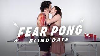 Blind Dates Play Fear Pong (Elias vs. Micaela) | Fear Pong | Cut