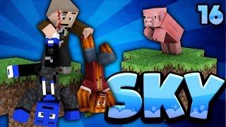 HERR BERGMANN TROLLT UNS! - Minecraft SKY #16 | DieBuddiesZocken