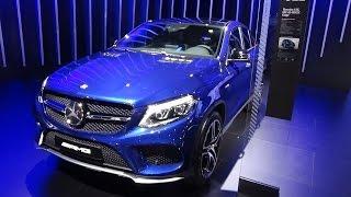 2017 Mercedes-AMG GLE 43 4Matic Coupé - Exterior and Interior - Automobile Barcelona 2017