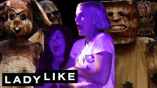 Chantel Pranks Ladylike At A Halloween Maze • Ladylike