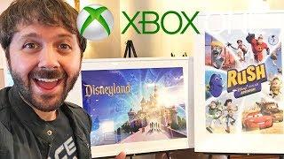 DISNEY XBOX EVENT! New Disney Games!