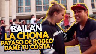 MEXICANOS PONEN A BAILAR A 300 RUSOS - ESTEBAN