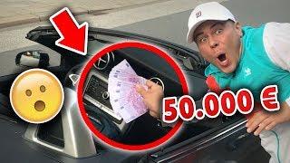50.000 € im AUTO liegen lassen! PRANK