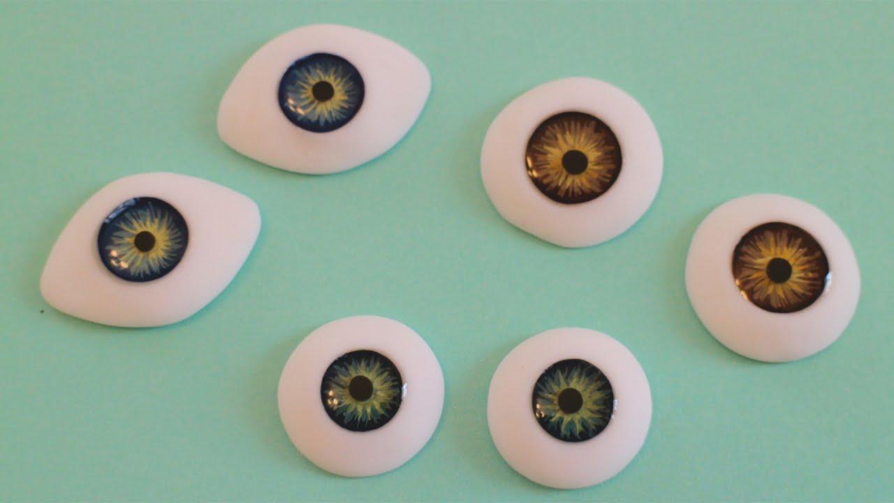 Глаза из пластики