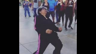 Dancing Grandma Knows How to Boogie