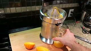 Breville Citrus Press The Best Citrus Juicer you can buy!