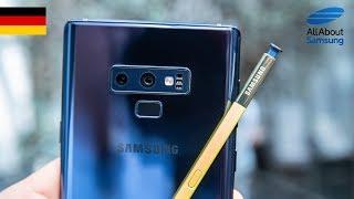 Samsung Galaxy Note9 Hands On deutsch 4k