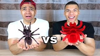 GUMMI ESSEN vs ECHTES ESSEN 2 !!! | PrankBrosTV
