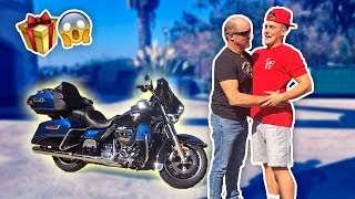 BUYING MY DAD HIS DREAM GIFT FOR HIS BIRTHDAY **SUPER emotional**