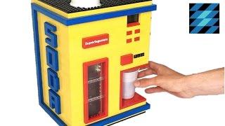 LEGO LIQUID soda machine!