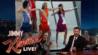 Gal Gadot Threw the Miss Universe Pageant