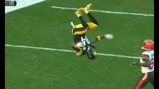 NFL Acrobatic Plays