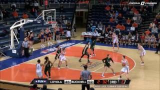 Bucknell WBB - PL Tournament Quarterfinal Highlights